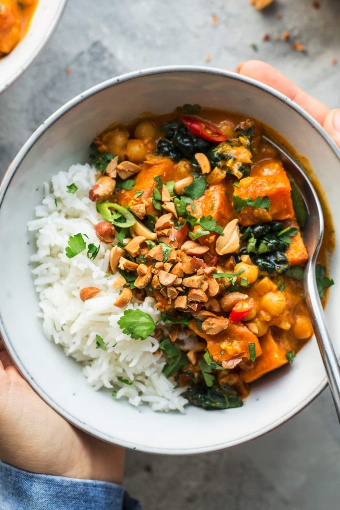 Peanut Curry with Sweet Potato Is a ColdWeather Hero