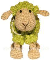 Cómo tejer una oveja a crochet