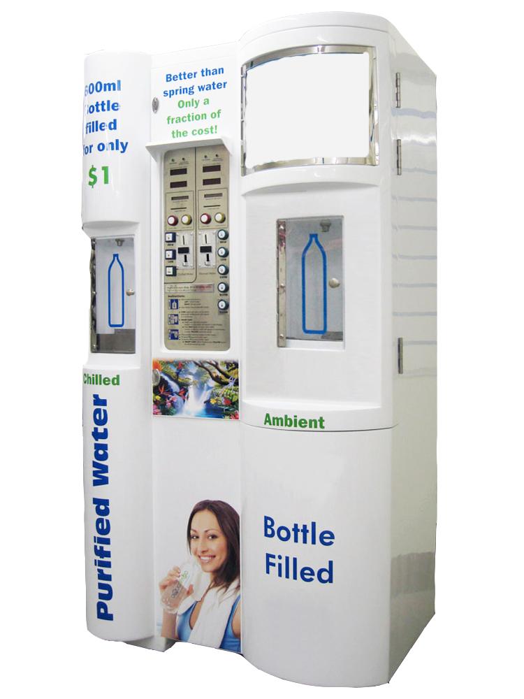 Dual Water Vending Machine Waterth Com Vending Machine Vending Machine Design Machine Design