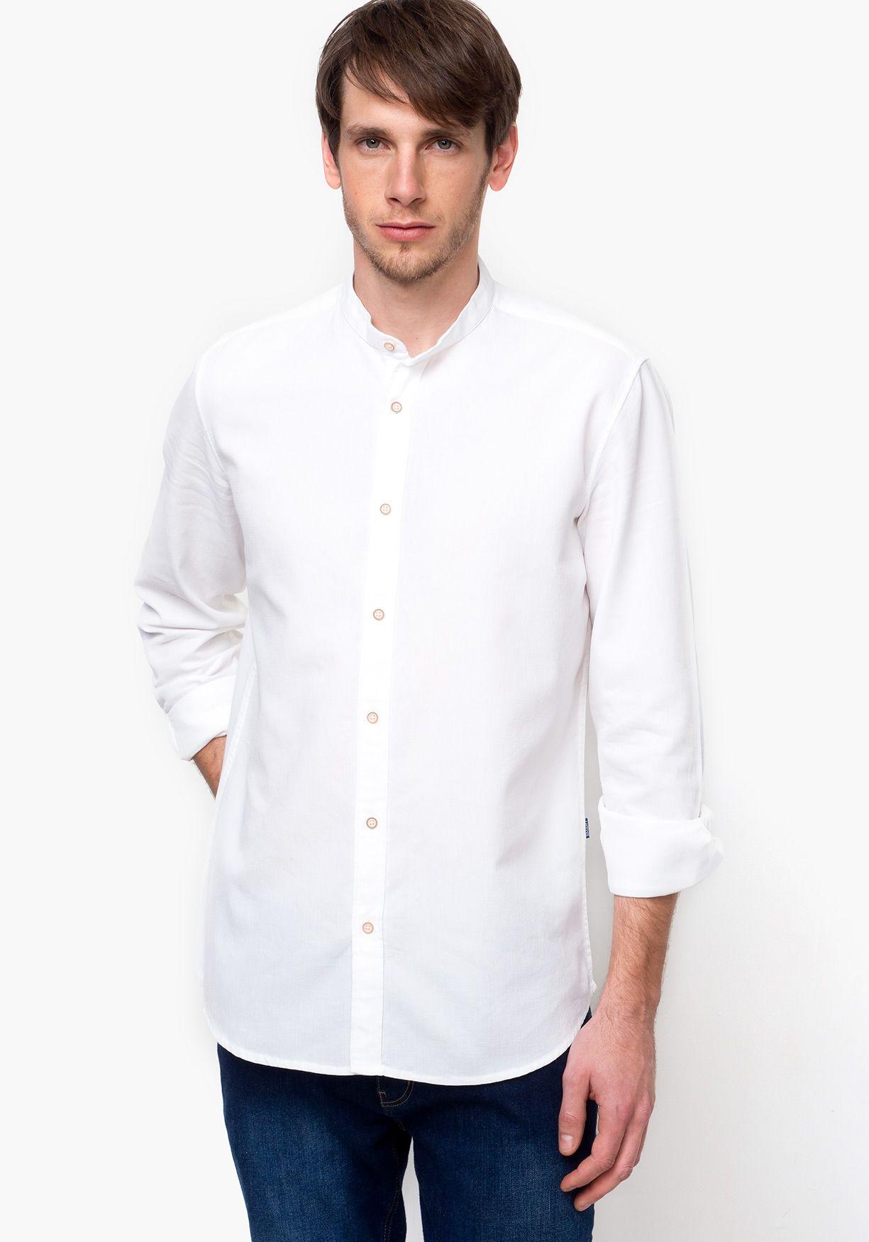 Camisa De Manga Larga Angel amp;marse Camisas TexBoda Estructura DHEYW29I