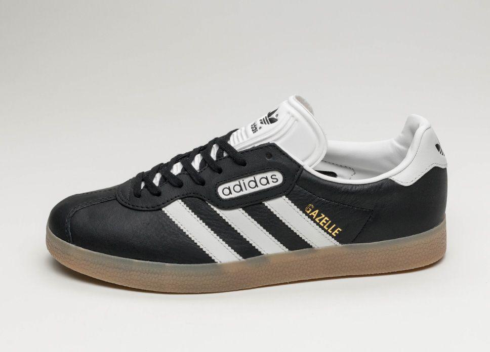 adidas Gazelle Super (Core Black Vintage White Gum) #lpu