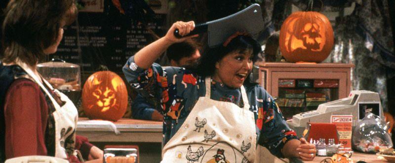 Roseanne Halloween episodes, I watch them every year as I decorate!   Halloween episodes ...