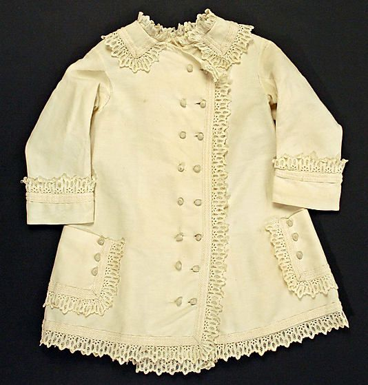 Coat (for a child?) ca. 1877, American