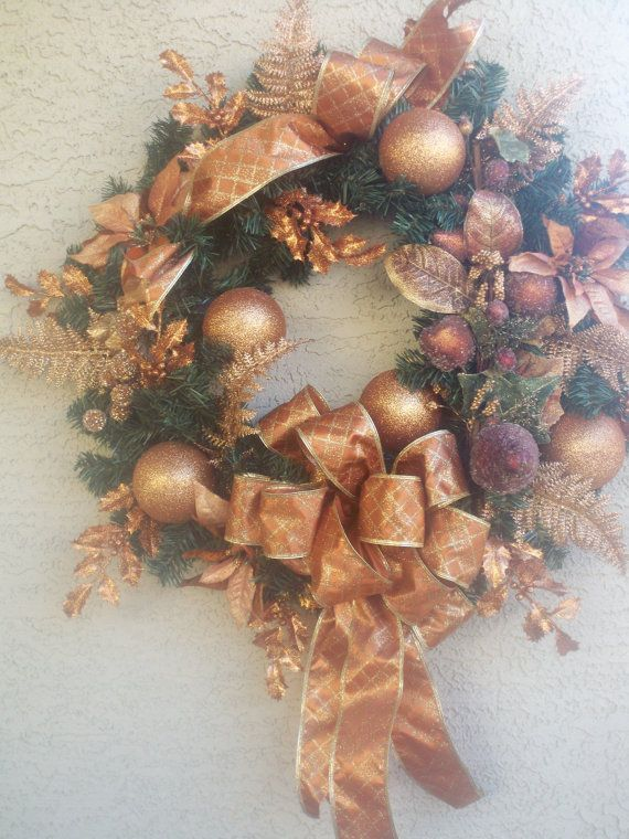 Christmas  Bronze Wreath