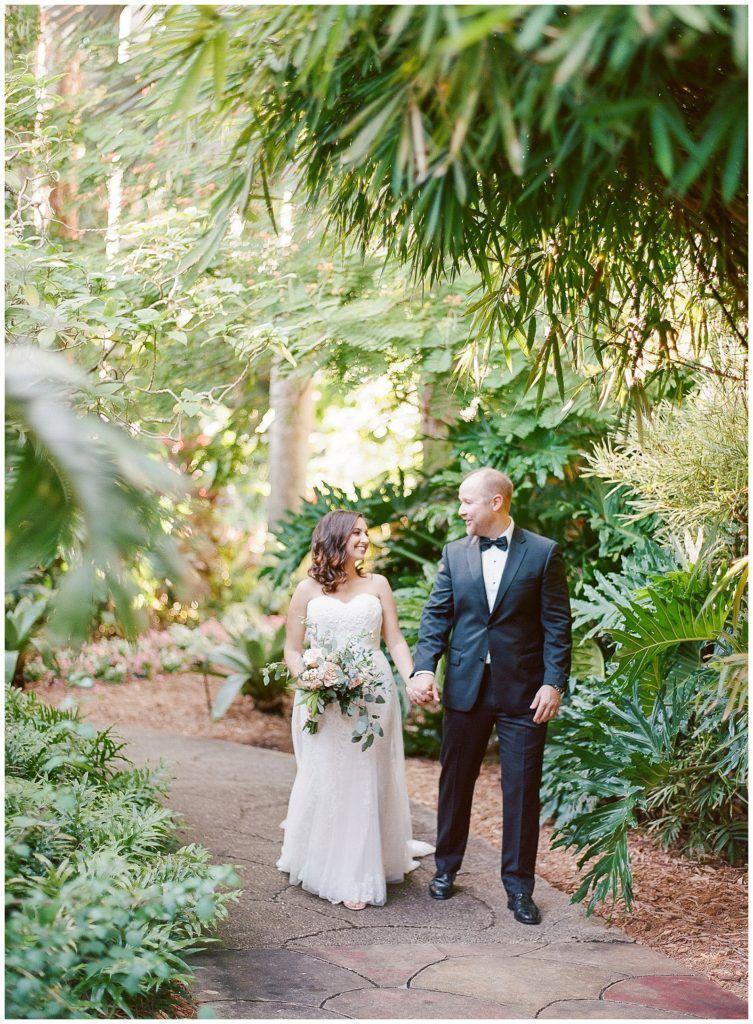 Sunken Gardens Wedding.Morgan Dereck A Sunken Gardens Wedding In St Petersburg