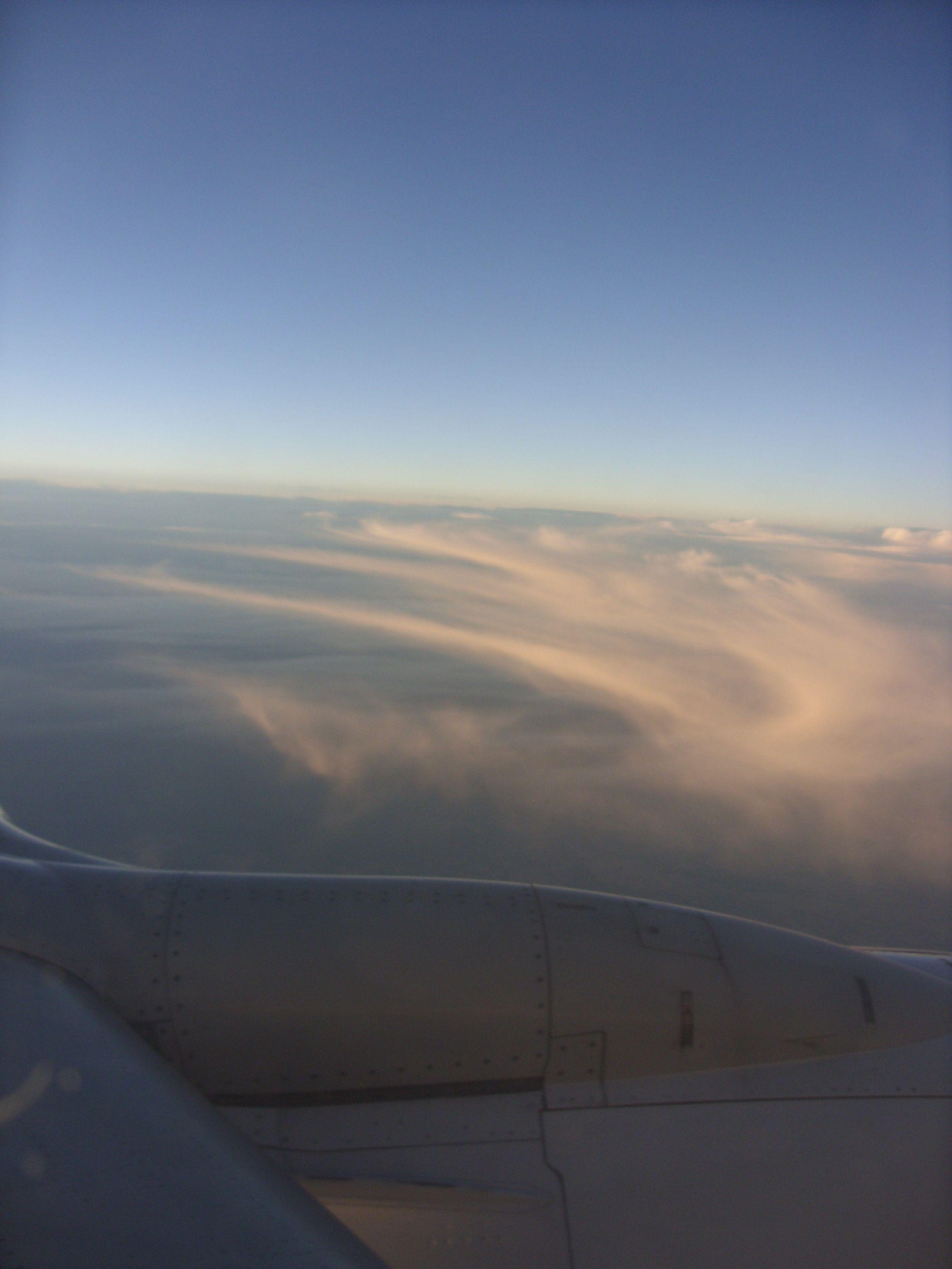 andando sobre nuvens...