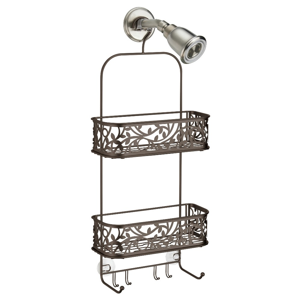 fab2ad5b600 Vine Bathroom Shower Caddy Bronze - InterDesign