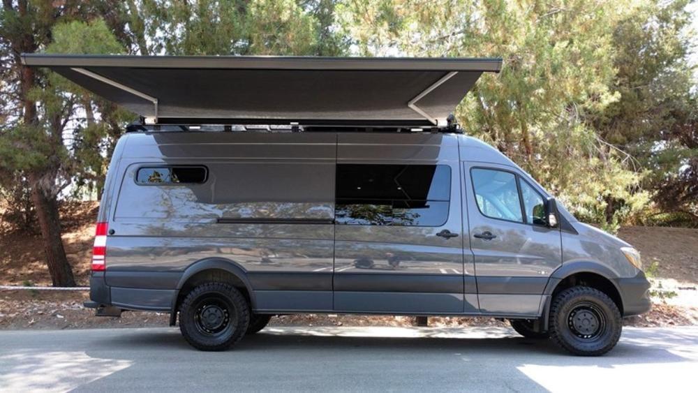 Rb Gear Hauler Van Nsr 170 4x4 Van Sprinter Van Sprinter Van Camper