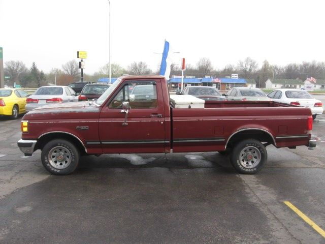 Red 1989 Ford F 150 For Sale 1989 Ford F150 Xlt Lariat For Sale