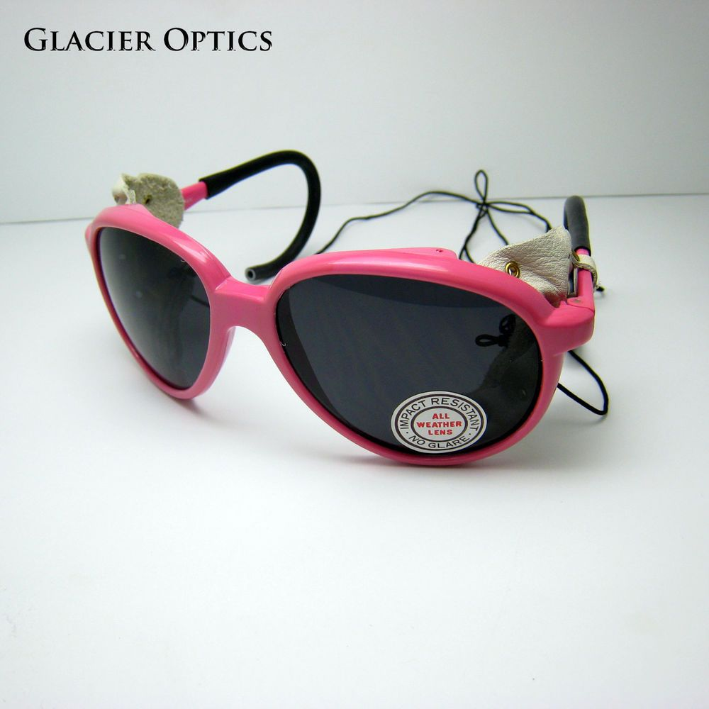 05c498c6959 Glacier Sunglasses Climbing Mountaineering Side Shields Skiing Blinders  Leather  fashion  clothing  shoes  accessories  mensaccessories ...