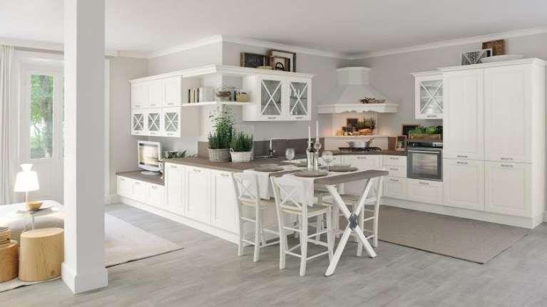 Idee per arredare una cucina classica - Cucina bianca classica