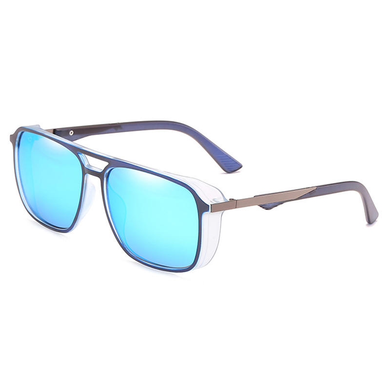 152e2522a2 Mens Summer Polarized Sunglasses Outdoor Round Frame in 2019