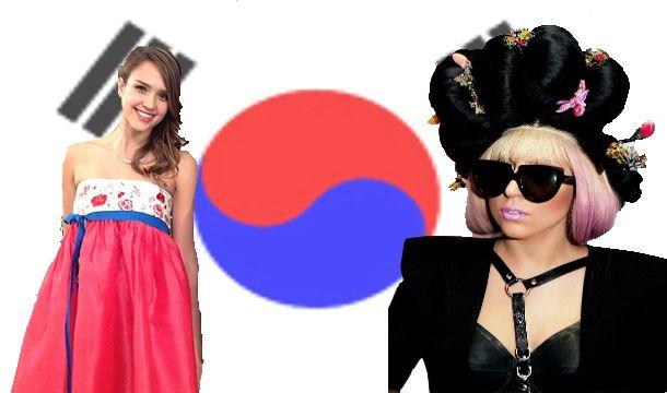 이쁘고 멋지네요~^^*  레이디가가 제시카알바 한복을 입었네요.Jessica Alba is a lady, shut up in Korea.  [Leo Talk] Lady Jessica Alba, never dries Korea Love love doteum '| K-STARFSHION