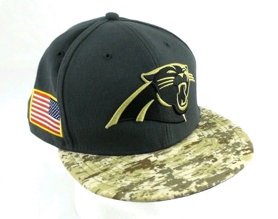 9c1f2fdd3 New Era 59Fifty NFL Carolina Panthers Hat Men s Digital Camo Fitted Cap Hat  SZ 8  59Fifty  BaseballCap