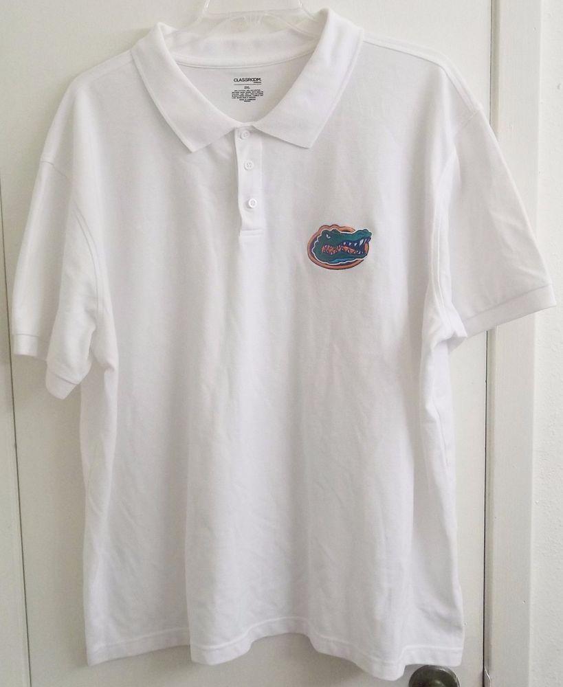 University Of Florida Gators Polo Style Shirt Adult 2xl Xx Large