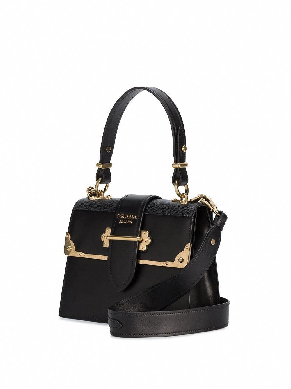 87265363356b Prada cahier medium leather tote #Pradahandbags | Prada Bags, Shoes ...