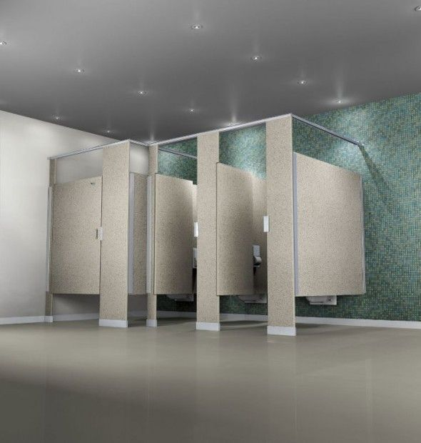 Bathroom Partitions Ideas gravel commercial bathroom partitions | materials and finishes