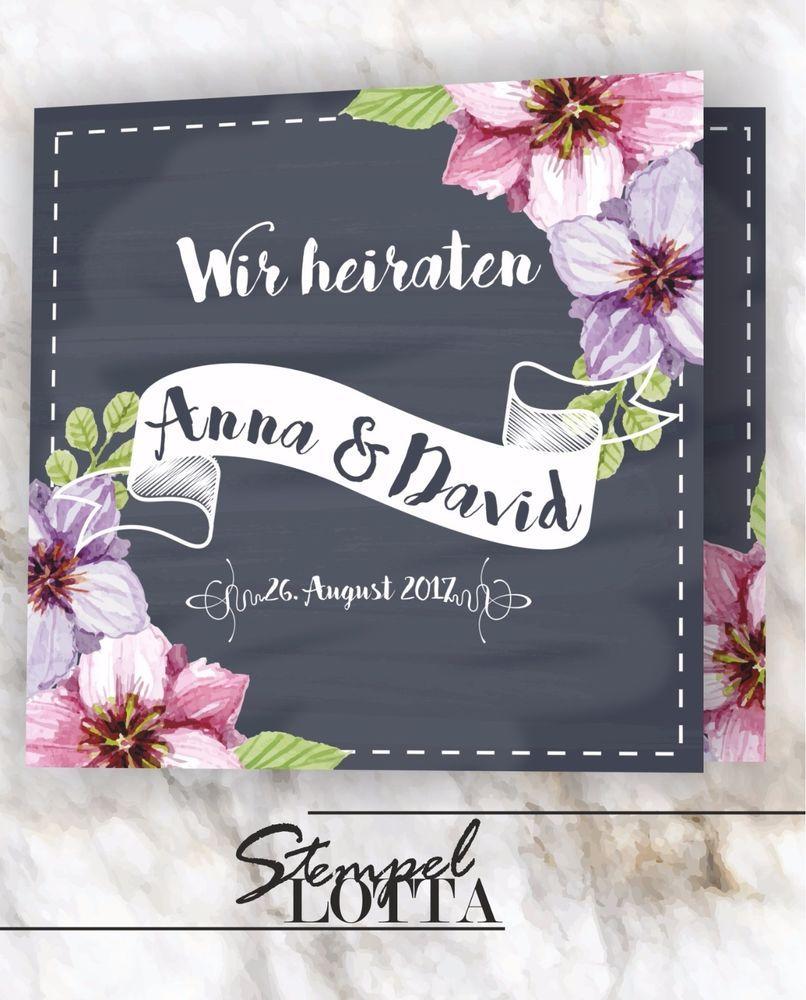 Details Zu Holz Einladungskarten Laser Graviert Hochzeit Einladung