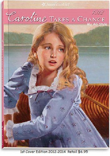 American Girl Doll Caroline Takes A Chance Book Caroline