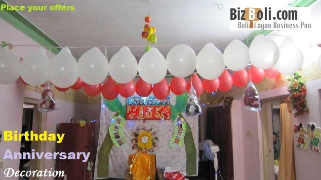 Birthday Anniversary Decoration Services