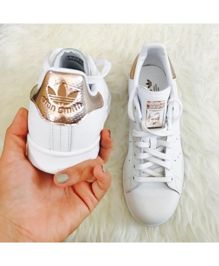 Adidas Stan Smith Rose Gold Trainers
