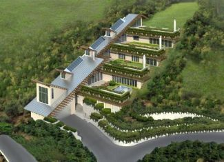 Sustainable Landscape Design For Green Roofs House Built Into Hill Building A Container Home Earth Sheltered Homes