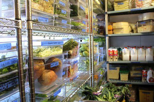 Tips For Organizing A Walk In Freezer Or Refrigerator Shelving Com Walk In Freezer Restaurant Refrigerator Refridgerator Organization