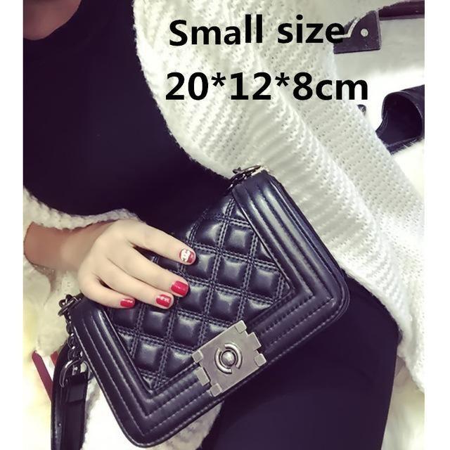 94edbaee1a Golden Finger Brand Crossbody Bags Diamond Lattice Women Bag Designer  Handbags High Quality Chain Ladies Women