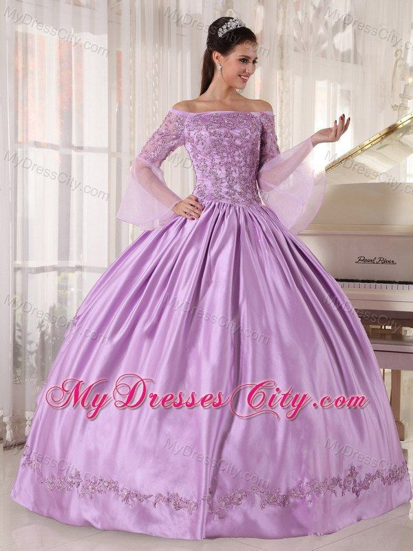 Quinceanera Dresses with Long sleeves Sleeves