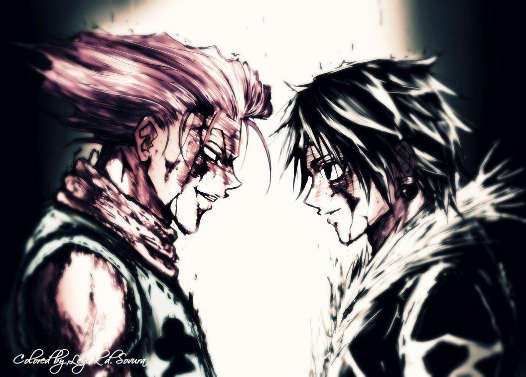 Hunter X Hunter Hisoka Vs Chrollo I Want This Animated So Bad