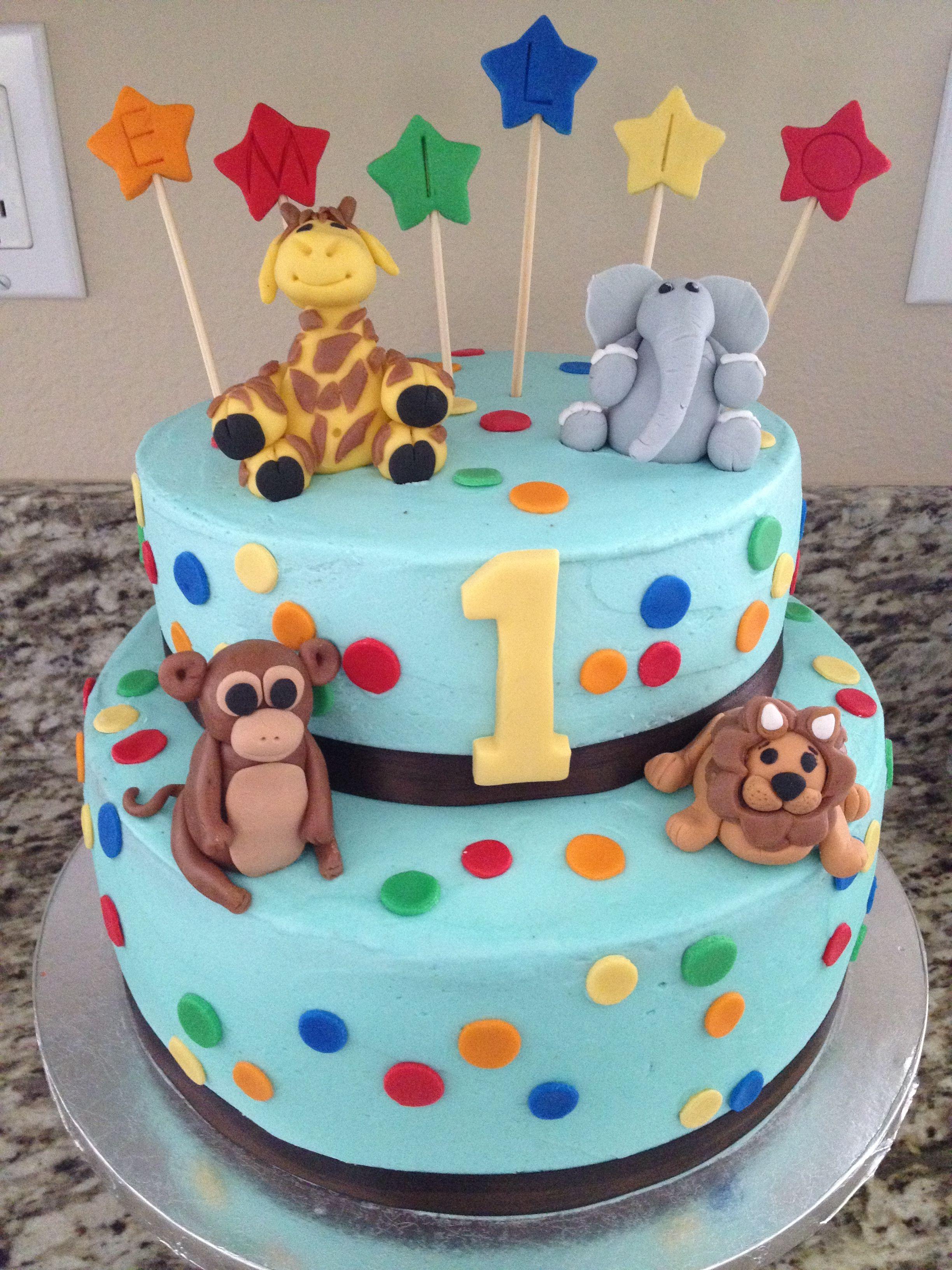 animals cakes ideas