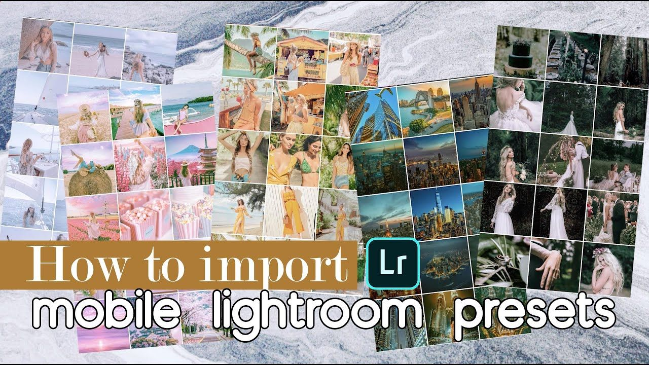 5 steps how to install import free mobile lightroom