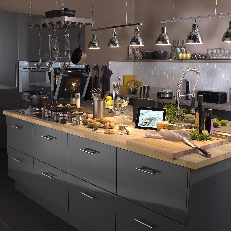 Cuisine Cuisines Ixina Ixinafrance Kitchen Interiordesign Design Bois Grise Kitchen Inspirations Kitchen Remodel Kitchen Decor