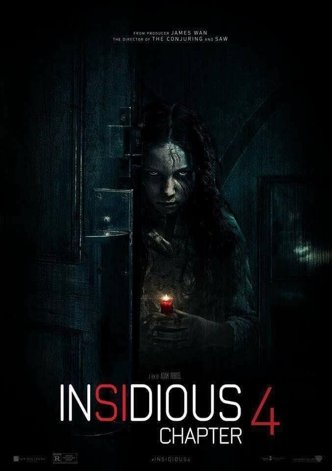 Insidious Chapter 4 New Poster Horror Movies Super Scary Movies Ghost Movies