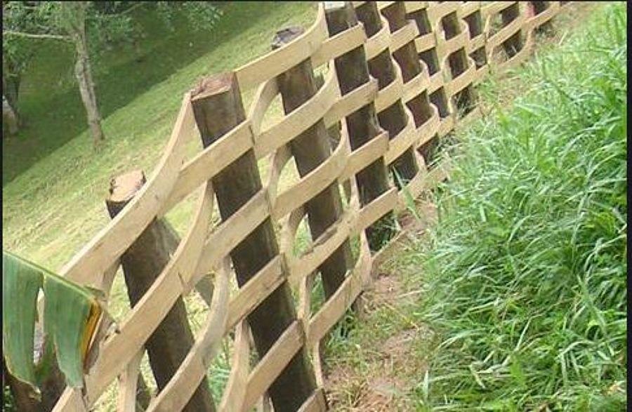 cercas de madeiras para jardim