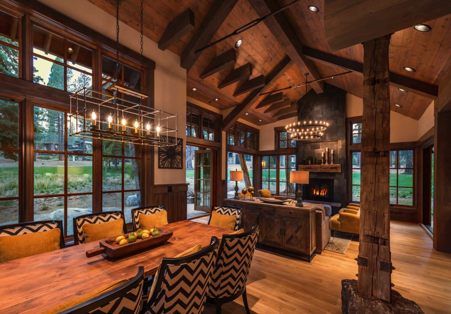 cozy mountain style cabin getaway in martis camp on modern cozy mountain home design ideas id=46209