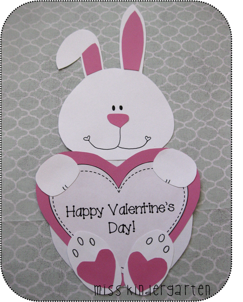 Miss Kindergarten Valentines Day Crafts I Love Her Craftivities
