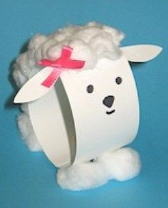 Paper Loop Lamb Eater Ideas Pinterest Crafts Sheep Crafts And