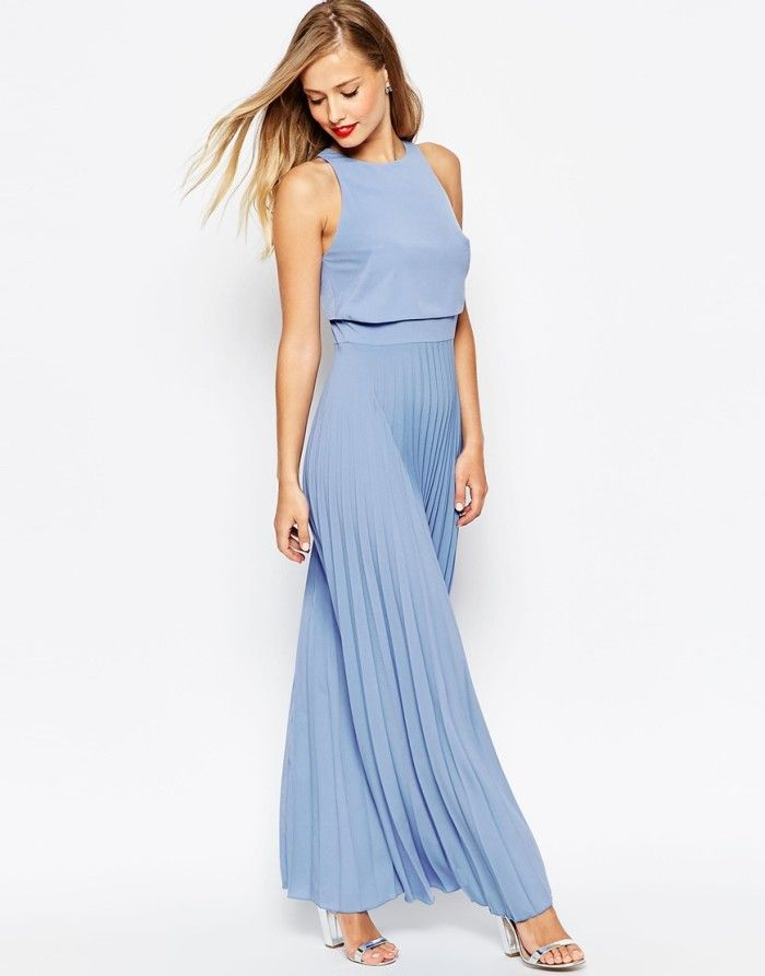 What to Wear to a June Wedding | Blue maxi dresses, Blue maxi and ...