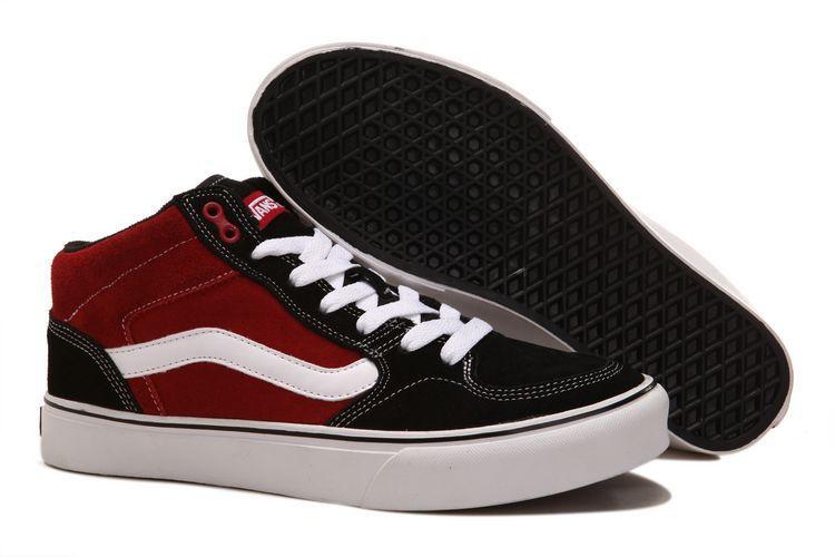 Vans Half Cab Pro Black-Red  Vans Vans Skate Shoes 98983c8a5