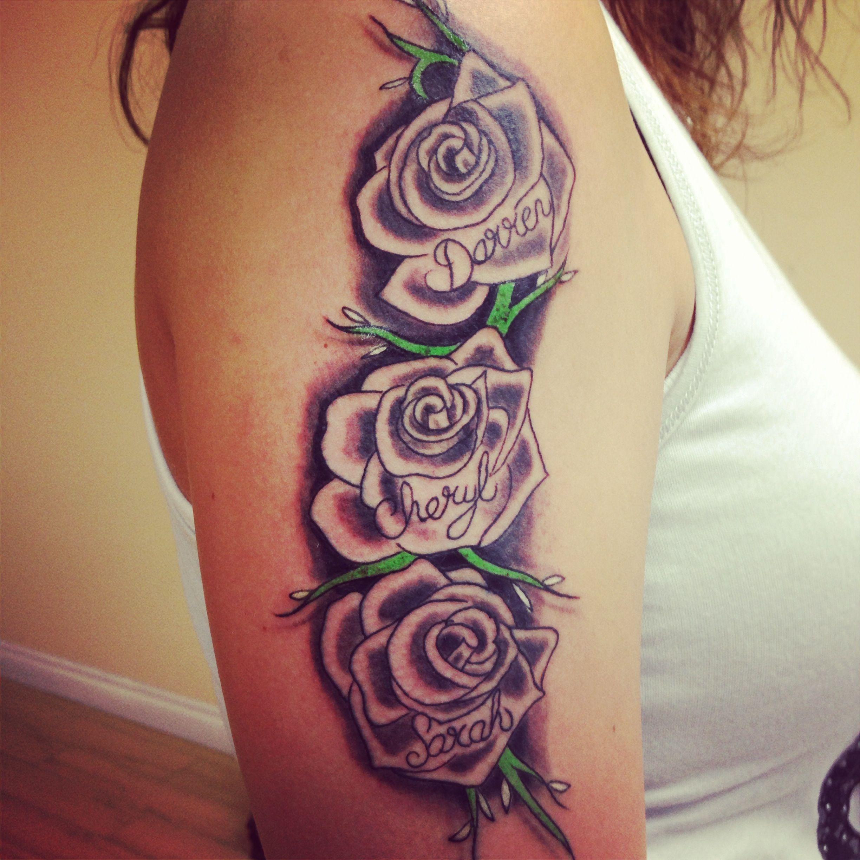 My tattoo rosetattoo tattoo girltattoo tattoos pinterest