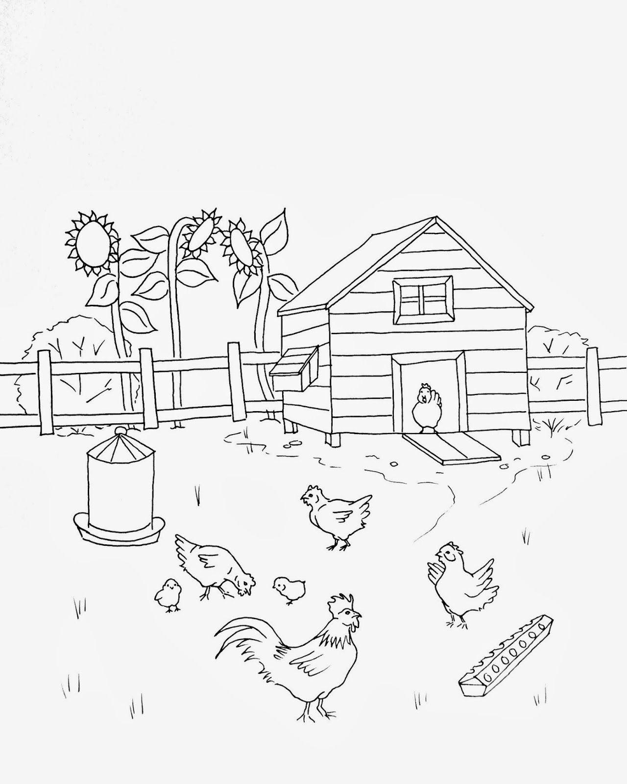 пуфа-мешка птичий двор раскраска для малышей утверждают