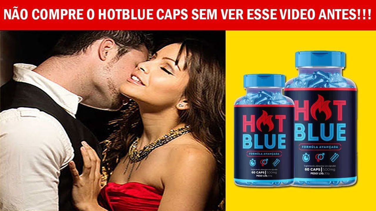 hot blue caps onde comprar