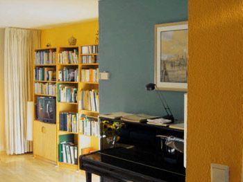 woonkamer okergeel - Google zoeken | app. : homey living | Pinterest ...