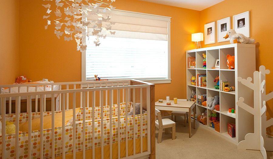 15 Cheerful Modern Orange Nursery Ideas To Welcome Fall Chambre