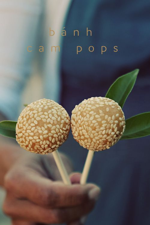 Bánh cam Orange sesame balls/pops http://viaggi.asiatica.com/