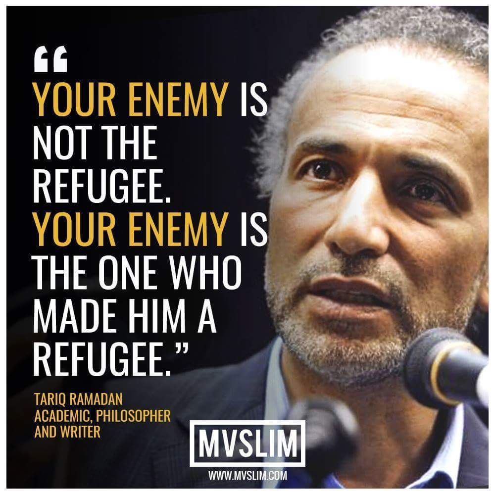 Refugee Quotes True.but Some Hide As Refugees & For That Reason I Can