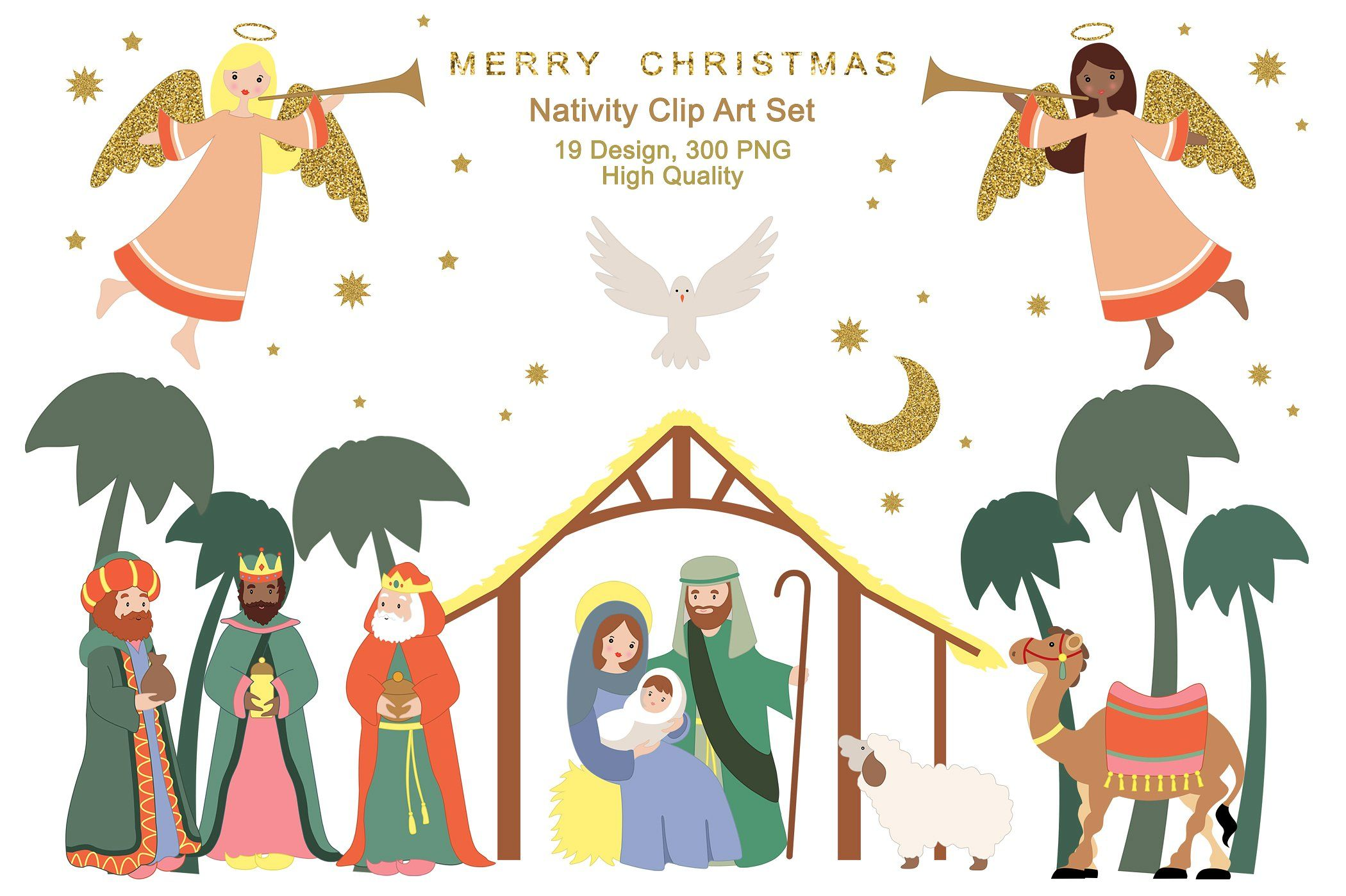 Christmas Nativity Cliparts, Stock Vector And Royalty Free Christmas  Nativity Illustrations