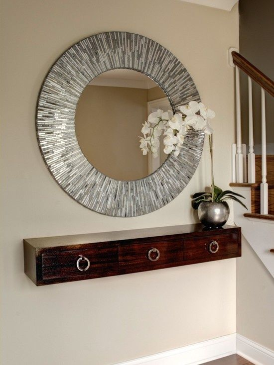 Mirror With Shelf Ideally With Hooks Underneath For