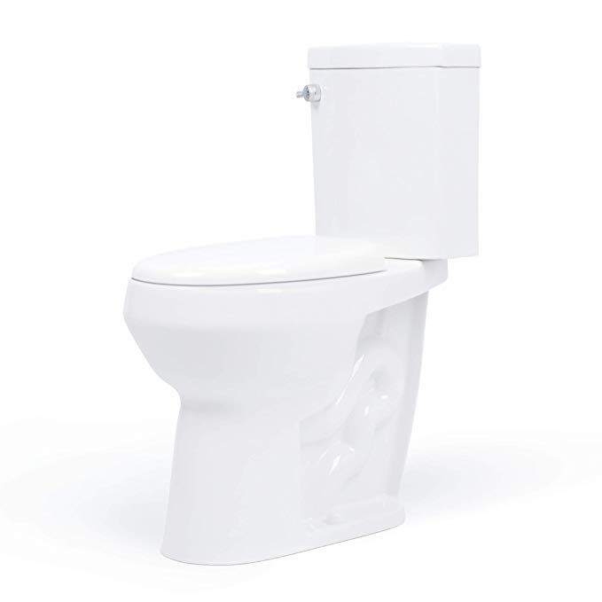 20 Inch Extra Tall Toilet Bowl Taller Than Ada Or Comfort Height Water Saving Dual Flush Slow Close Seat Up Tall Toilets Rustic Bathroom Shelves New Toilet